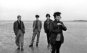 Siouxsie and the Banshees photosession on Hastings Beach 1979