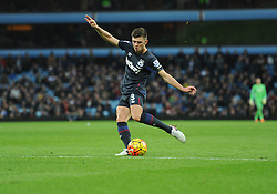 Aaron Cresswell of West Ham United scores. - Mandatory byline: Alex James/JMP - 07966 386802 - 26/12/2015 - FOOTBALL - Villa Park - Birmingham, England - Aston Villa v West Ham United - Barclays Premier League