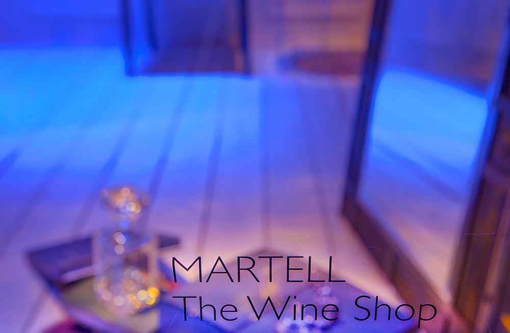 Martell promotion for Harrods, London