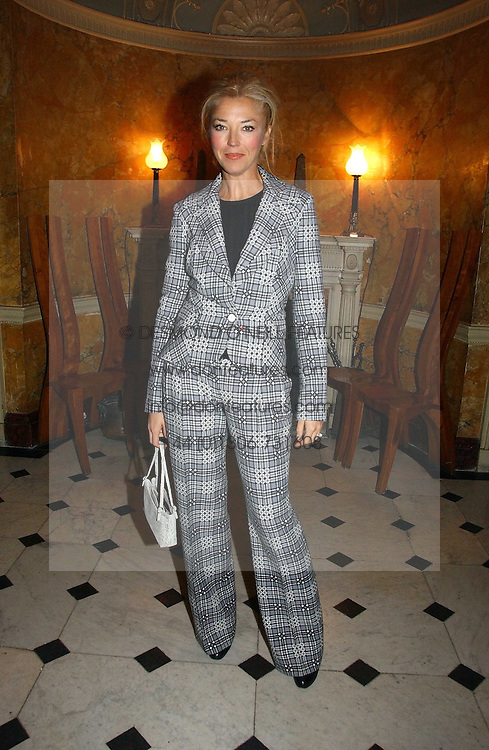 TAMARA BECKWITH at a party hosted by Westfield and the British Fashion Council to celebrate Fashion Forward held at Home House, 20 Portman Square, London W1 on 30th January 2007.<br /><br />NON EXCLUSIVE - WORLD RIGHTS