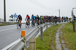 Lisa Brennauer (GER) leads the peloton at Driedaagse Brugge - De Panne 2018 - a 151.7 km road race from Brugge to De Panne on March 22, 2018. Photo by Sean Robinson/Velofocus.com