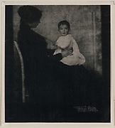 Portrait of Mrs Ward and Baby 1903. Gertrude Käsebier.