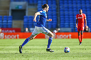 Cardiff City's Ciaron Brown (30) in action during the EFL Sky Bet Championship match between Cardiff City and Nottingham Forest at the Cardiff City Stadium, Cardiff, Wales on 2 April 2021.