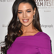 Mary Louise Kelly is a Singer 🎤 Actress attend Blackbird - World Premiere with Michael Flatley at May Fair Hotel, London, UK. 28th September 2018.