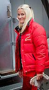 Norwegian Royal Family attend Holmenkollen Skifestival, Oslo 07-02-2016