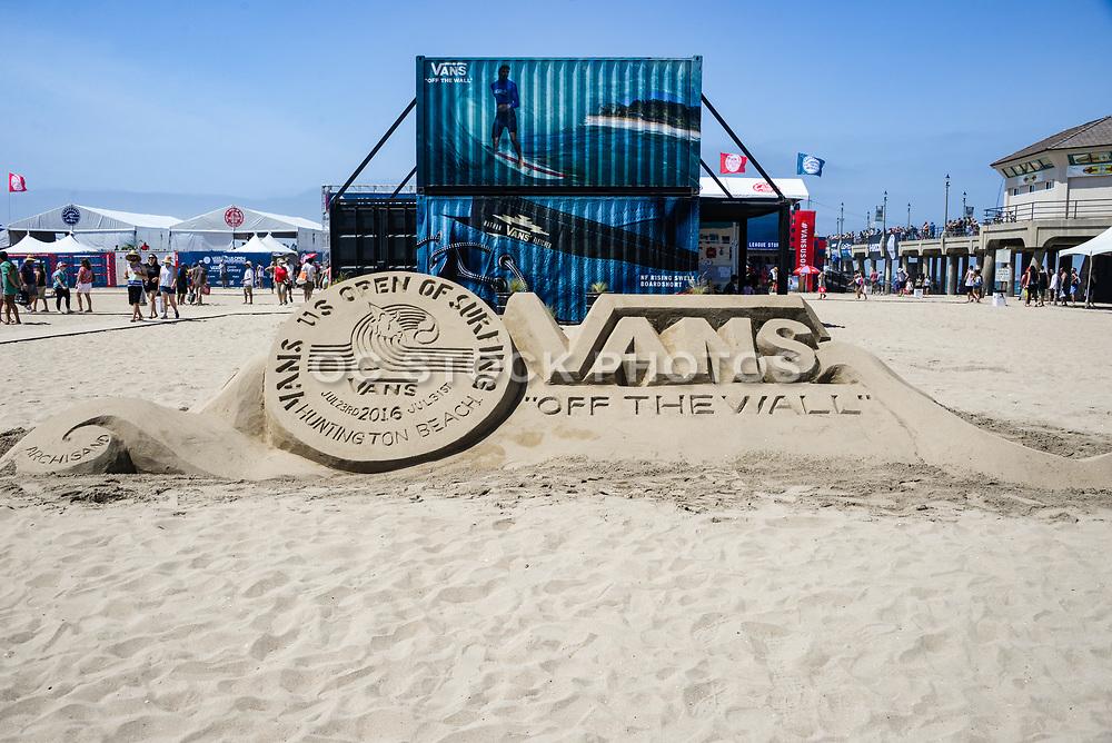 Vans US Open of Surfing Huntington Beach California