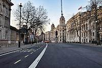London in lockdown during the Coronavirus pandemic