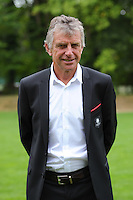 Christian Gourcuff coach of Rennes during the presentation of the Stade Rennais Team on September 12, 2016 in Rennes, France. (Photo by Andre Ferreira/Icon Sport)