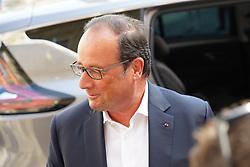 July 21, 2017 - Arles, FRANCE - Francois Hollande a la mairie de Arles pour presenter sa fondation la france s'engage (Credit Image: © Panoramic via ZUMA Press)