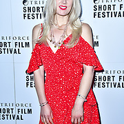 Rebekah Smith attend TriForce Short Festival, on 30 November 2019, at BFI Southbank, London, UK.
