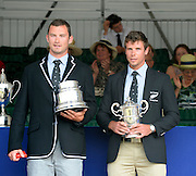 Henley on Thames. United Kingdom. Winners of The Double Sculls Challenge Cup. A. N. ARMS and R.W.MANSON, (Waiariki Rowing Club, New Zealand) 2013 Henley Royal Regatta, Henley Reach. 17:08:43  Sunday  07/07/2013  [Mandatory Credit; Peter Spurrier/ Intersport Images]