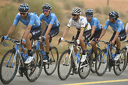 March 1, 2019 - Dubai, Emirati Arabi Uniti - Foto LaPresse - Fabio Ferrari.01 Marzo 2019 Dubai (Emirati Arabi Uniti).Sport Ciclismo.UAE Tour 2019 - Tappa 6 - da Ajman a Jebel Jais - 180 km.Nella foto:VALVERDE Alejandro (ESP) MOVISTAR TEAM..Photo LaPresse - Fabio Ferrari.March 01, 2019 Dubai (United Arab Emirates) .Sport Cycling.UAE Tour 2019 - Stage 6 - From Ajman To Jebel Jais  - 112 miles..In the pic: VALVERDE Alejandro (ESP) MOVISTAR TEAM (Credit Image: © Fabio Ferrari/Lapresse via ZUMA Press)