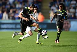 Diego Costa of Chelsea attacks forward with the ball. - Mandatory byline: Alex James/JMP - 07966386802 - 11/09/2016 - FOOTBALL - Barclays premier league -swansea,Wales - Swansea v Chelsea  -