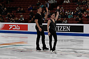 Haven Denney and Brandon Frazier from the USA competes in the Pairs Short Program during the ISU - Four Continents Figure Skating Championships, at the Honda Center in Anaheim California, February 5-10, 2019