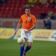 NLD/Amsterdam/20060301 - Voetbal, oefenwedstrijd Nederland - Ecuador, Joris Mathijsen