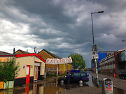 After the rainstorm, Amsterdam Nord