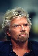 Billionaire founder of the Virgin Group Richard Branson testifies in Congress on trans-Atlantic airline flights June 4, 1997 in Washington, DC.