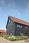 barn hertfordshire england uk wooden black conversion residential