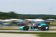 August 3-5 2018: Lamborghini Super Trofeo Road America. 21 Justin Price, Dream Racing, Motorsport, Lamborghini Atlanta, Lamborghini Huracan Super Trofeo EVO