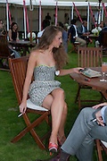 JOANNA GREEN, Cartier International Polo. Smiths Lawn. Windsor. 24 July 2011. <br /> <br />  , -DO NOT ARCHIVE-© Copyright Photograph by Dafydd Jones. 248 Clapham Rd. London SW9 0PZ. Tel 0207 820 0771. www.dafjones.com.