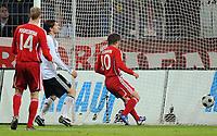 Fotball<br /> VM-kvalifisering<br /> Tyskland v Russland<br /> 11.10.2008<br /> Foto: Witters/Digitalsport<br /> NORWAY ONLY<br /> <br /> Tor 2:1 Andrey Arshavin Russland<br /> WM-Qualifikation Deutschland - Russland
