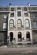 Sir John Soane's Museum,  Lincoln's Inn Fields, London, England. Soane was born in 1753, the son of a bricklayer, and died after a long and distinguished career as an architect in 1837.