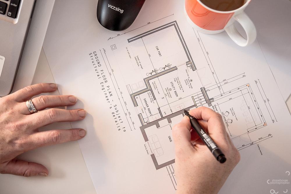 Jen Ellis, Chrysalis Architects portraits  Business marketing photographer, Oswestry, Shropshire for websites and social media