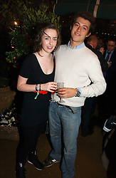 COURTNEY MULLEN and GIOVANNI MAZZEI at a party to celebrate the publication on 'A Year in My Kitchen' by Skye Gyngell held at The Petersham Nurseries, Petesham, Surrey on 19th October 2006.<br /><br />NON EXCLUSIVE - WORLD RIGHTS