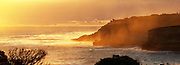 Misty Sunset in Port Campbell National Park<br /> on the Great Ocean Road