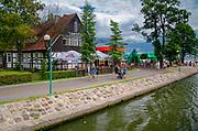 Tawerna przy ujściu Kanału Łuczańskiego do jeziora Niegocin