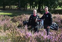ARNHEM - De golfpro's van de Rosendaelsche GC. John Boerdonk (l)  en Menno Pelk . COPYRIGHT KOEN SUYK