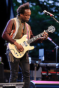 """Photos of the band The Roots performing at City Parks Foundation's SummerStage gala event, """"The Music of Jimi Hendrix"""", at Rumsey Playfield in Central Park, NYC. June 5, 2012. Copyright © 2012 Matthew Eisman. All Rights Reserved."""