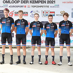 VELDHOVEN (NED) July 3: <br />CYCLING <br />The first race of the Schwalbe Topcompetition BHST Team