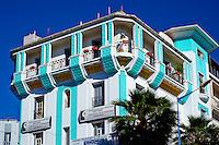 Maroc, Casablanca, rond point Mers Sultan // Morocco, Casablanca, Mers Sultan square