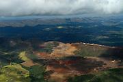 Belo Horizonte_MG, Brasil...Mineracao na Serra do Curral em Belo Horizonte, Minas Gerais...Mining in Serra do Curral in Belo Horizonte, Minas Gerais...Foto: BRUNO MAGALHAES / NITRO