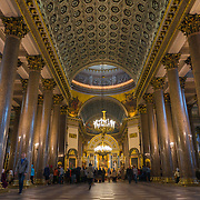 Kazansky Cathedral Interior, Saint Petersburg