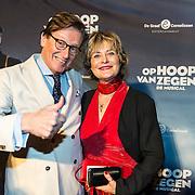 NLD/Zaandam/20190128- première musical Op Hoop van Zegen, Frank Jansen en Vivian Boelen