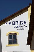 Fabrica Ceramica Fundada, an old ceramics factory still working today, in Lisbon, Portugal