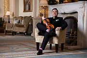 Maxim Vengerov, photographed at The Oxford & Cambridge Club, Pall Mall, London, for BBC Music Magazine.