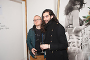 FYODOR PODGORNY;  GOLAN FRYDMAN, Maison Triumph launch to celebrate the beginning of London fashion week. Monmouth St. 14 February 2013.
