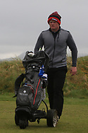 Josh Mackin (Dundalk) on the 6th tee during Round 3 of the Ulster Boys Championship at Donegal Golf Club, Murvagh, Donegal, Co Donegal on Friday 26th April 2019.<br /> Picture:  Thos Caffrey / www.golffile.ie