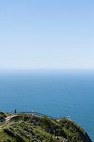Muir Beach Overlook near San Francisco, California.
