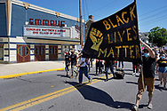 Hundreds of community members turned out June 14, 2020, for a peace march in support of Black Lives Matter in Emmaus, Pennsylvania. (Photo by Matt Smith) Emmaus Theatre is among about a dozen Southeastern Pennsylvania theaters built in the early 1900's that are still active. Opened in 1909, Emmaus Theatre has given community members the chance to pay for special personalized messages on what they've dubbed the Emmaus Theatre Community Marquee as a way to raise money during the COVID-19 pandemic which has seen a dramatic halting in business for the local theater in Emmaus, Pennsylvania.