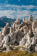 Mono Lake, near Lee Vining, California, USA; views of tufa formations.