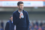 Rochdale manager Brian Barry-Murphy during the EFL Sky Bet League 1 match between Rochdale and Sunderland at Spotland, Rochdale, England on 6 April 2019.