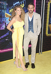 Blake Lively and Ryan Reynolds at the New York premiere of POKÉMON DETECTIVE PIKACHU. 02 May 2019 Pictured: Ryan Reynolds, Blake Lively. Photo credit: MEGA TheMegaAgency.com +1 888 505 6342