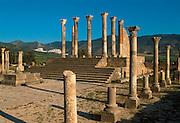 MOROCCO, ROMAN, VOLUBILIS Roman City, 1st-3c.AD; the Capitol