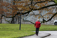 Warren Gatland , the Wales rugby head coach arrives for the Wales rugby team training session at the Vale Resort Hotel in Hensol, near Cardiff , South Wales on Thursday 23rd November 2017.  the team are preparing for their Autumn International series test match against New Zealand this weekend.   pic by Andrew Orchard