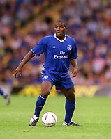 Geremi (Chelsea) Watford v Chelsea, Pre-Season Friendly, 5/08/2003. Credit: Colorsport / Matthew Impey