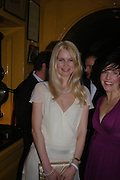 Claudia Schiffer and Sharlene Spiteri. Artists Independent Networks  Pre-BAFTA Party at Annabel's co hosted by Charles Finch and Chanel. Berkeley Sq. London. 11 February 2005. . ONE TIME USE ONLY - DO NOT ARCHIVE  © Copyright Photograph by Dafydd Jones 66 Stockwell Park Rd. London SW9 0DA Tel 020 7733 0108 www.dafjones.com